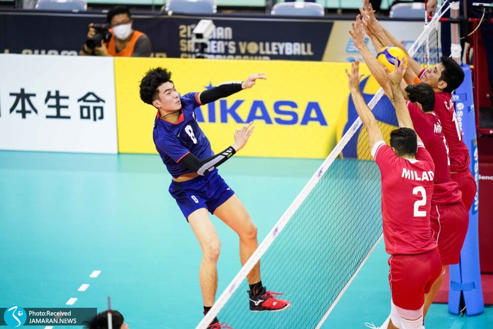 والیبال قهرمانی آسیا 2021 - ایران - چین تایپه