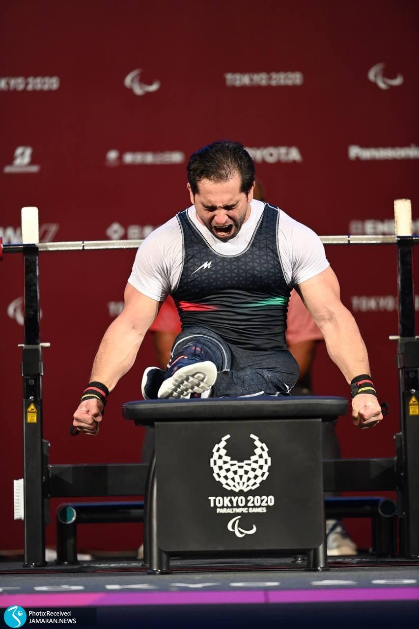 پارالمپیک 2020 توکیو وزنه برداری- امیر جعفری
