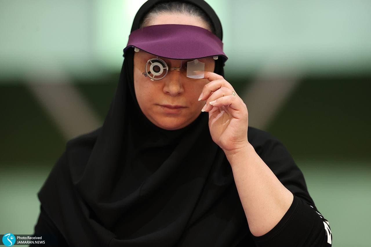 پاراتیراندازی ایران در پارالمپیک توکیو ساره جوانمردی