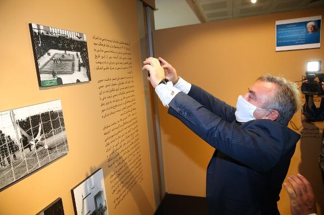 بازدید رییس فدراسیون کشتی صربستان از موزه ملی ورزش
