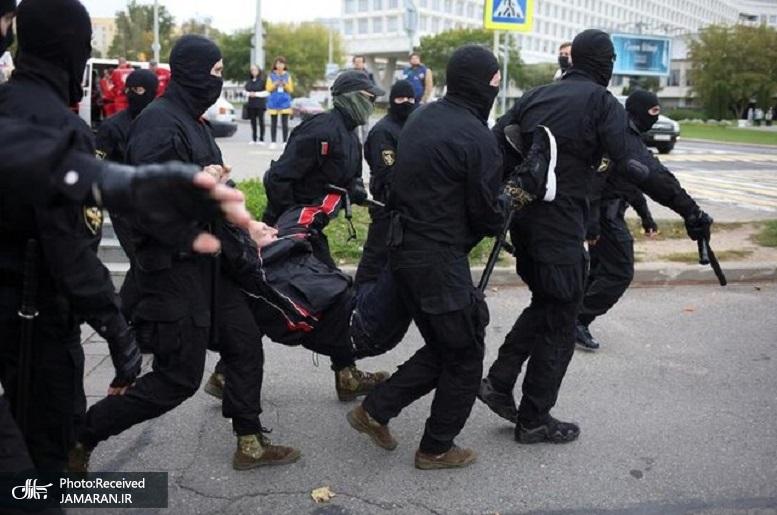 اعتراضات بی سابقه در بلاروس