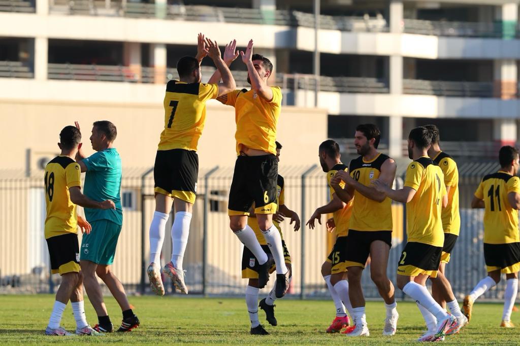 تمرین تیم ملی فوتبال ایران در بحرین