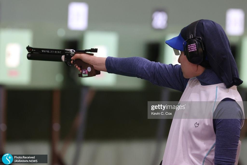 تصاویر منتخب المپیکی روز پنجم هانیه رستمیان