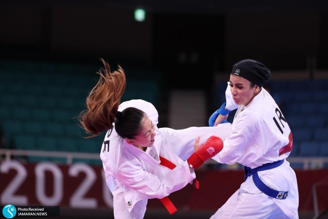 سارا بهمنیار کاراته المپیک 2020 توکیو