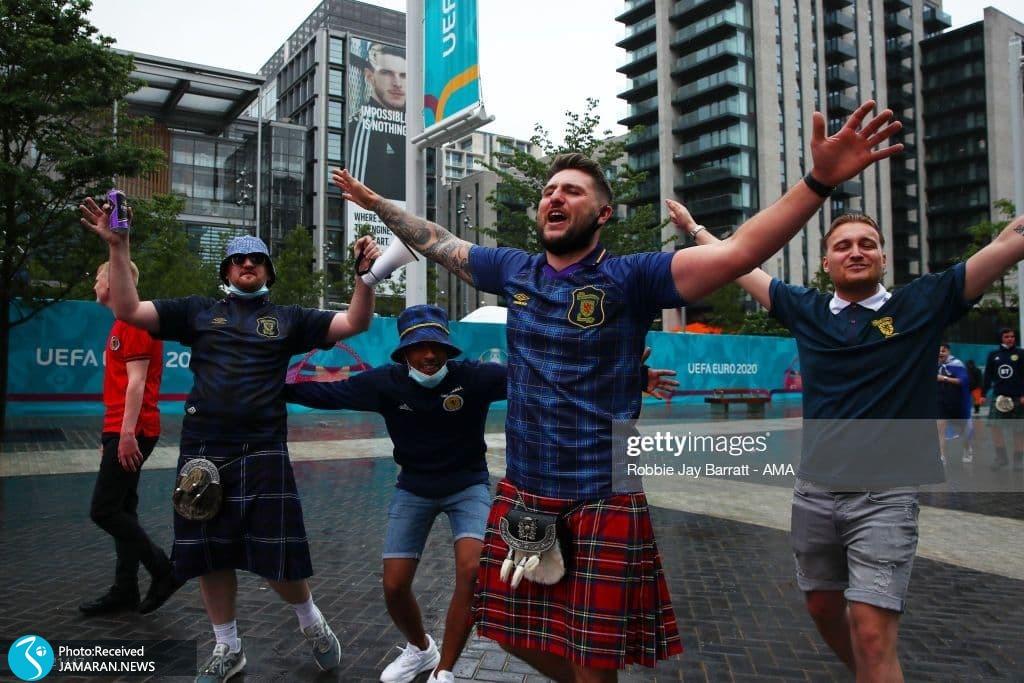 یورو 2020 - تیم فوتبال انگلیس و اسکاتلند