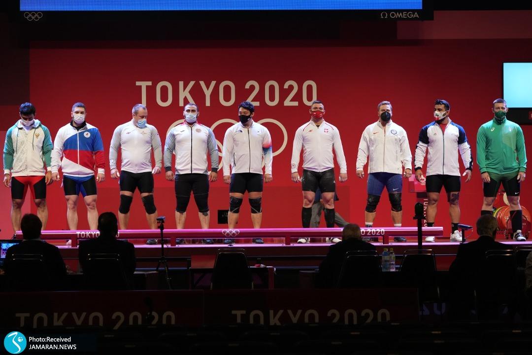 علی هاشمی وزنه برداری المپیک 2020 توکیو