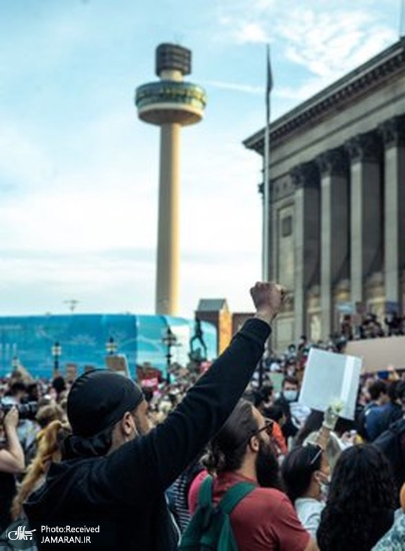 تظاهرات  لیورپول