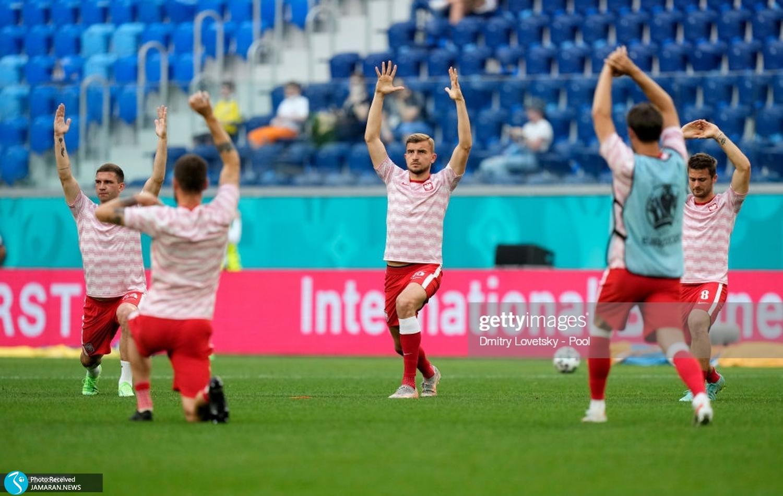 یورو ۲۰۲۰ تیم فوتبال سوئد و لهستان