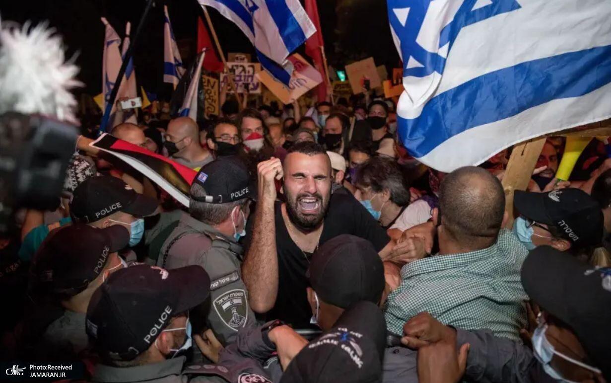 اعتراض+نتانیاهو