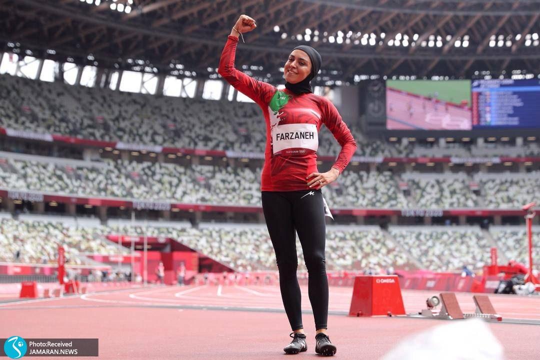 فرزانه فصیحی دوومیدانی المپیک
