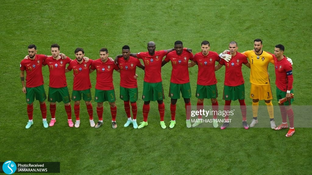 یورو ۲۰۲۰ - تیم فوتبال آلمان و پرتغال
