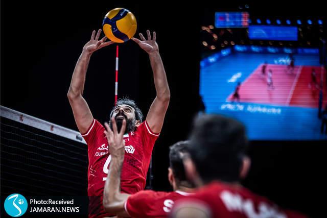 سعید معروف لیگ ملت های والیبال 2012- تیم ملی والیبال ایران - ایران و آمریکا