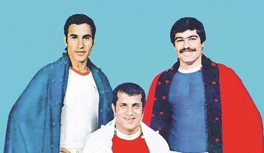 عکس آتلیه ای سه بازیکن مطرح تیمملی در جام جهانی 1978