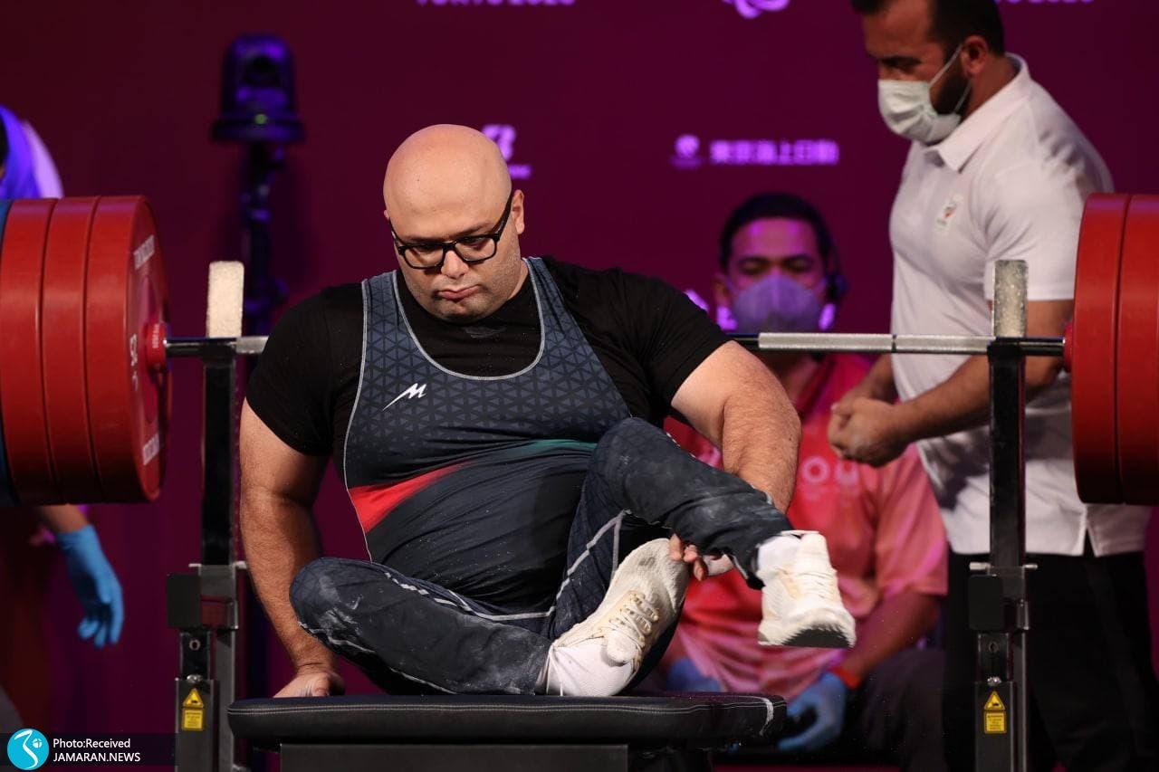 وزنه برداری پارالمپیک 2020 - حامد صلحی پور