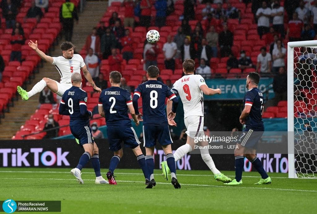 یورو ۲۰۲۰ - تیم فوتبال انگلیس و اسکاتلند