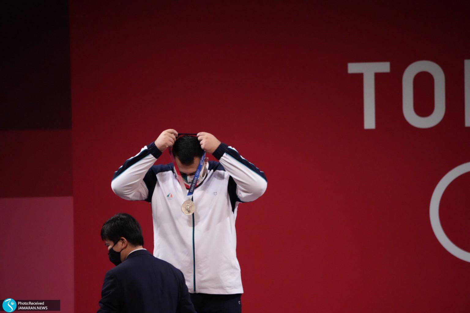 علی داودی وزنه برداری المپیک