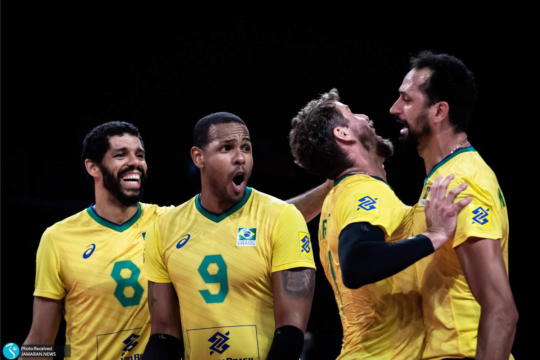 والیبال برزیل و لهستان