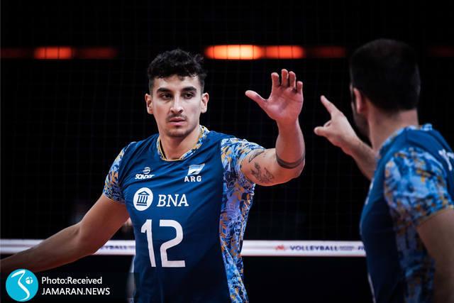 لیگ ملت های والیبال 2021 - والیبال ایران و آرژانتین