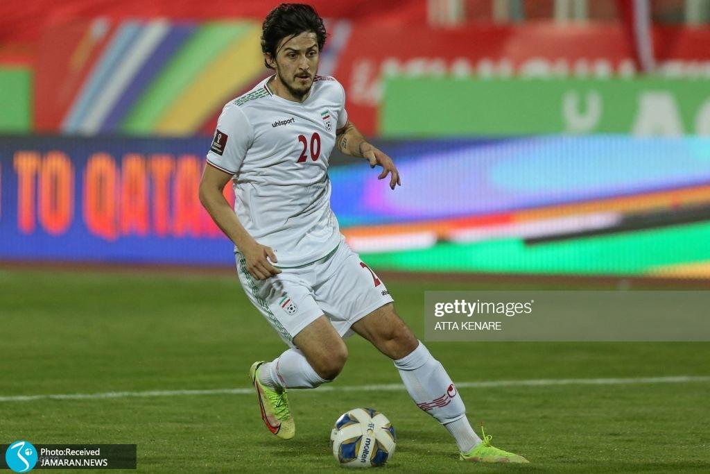 سردار آزمون تیم ملی فوتبال ایران کره جنوبی انتخابی جام جهانی