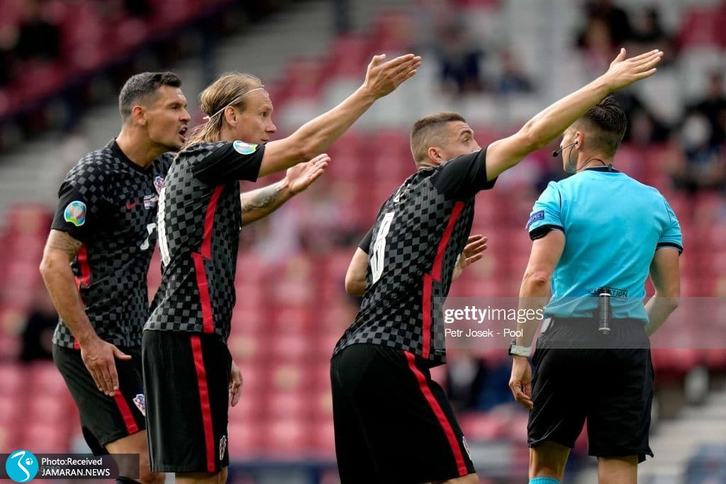 یورو 2020- تیم فوتبال کرواسی و اسلواکی