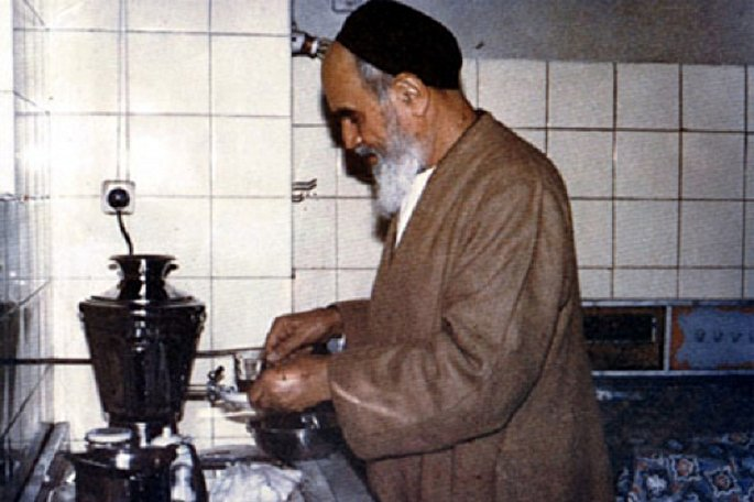 عکس+سبک+زندگی+امام+خمینی