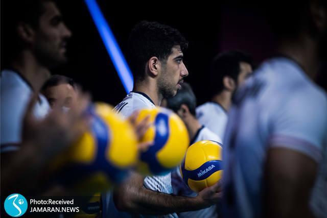 لیگ ملت های والیبال 2021 -  تیم ملی والیبال ایران - والیبال ایران و آرژانتین