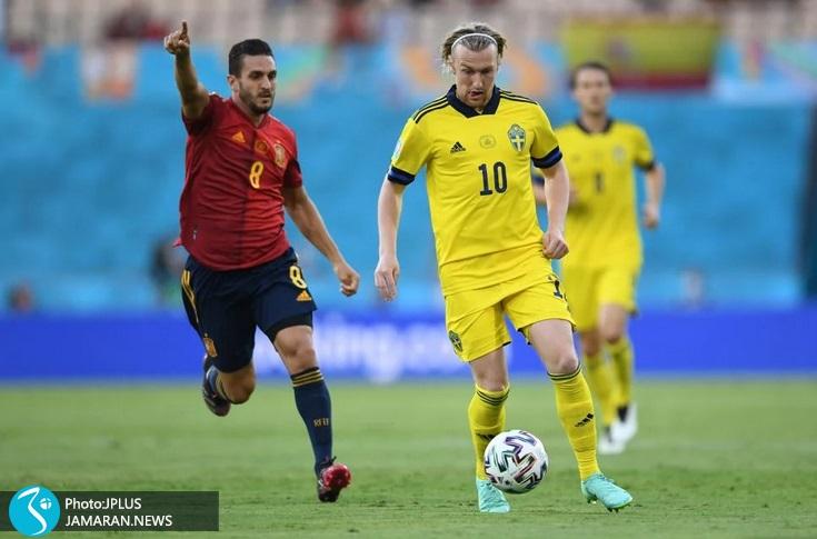 یورو 2020 - اسپانیا و سوئد - کوکه