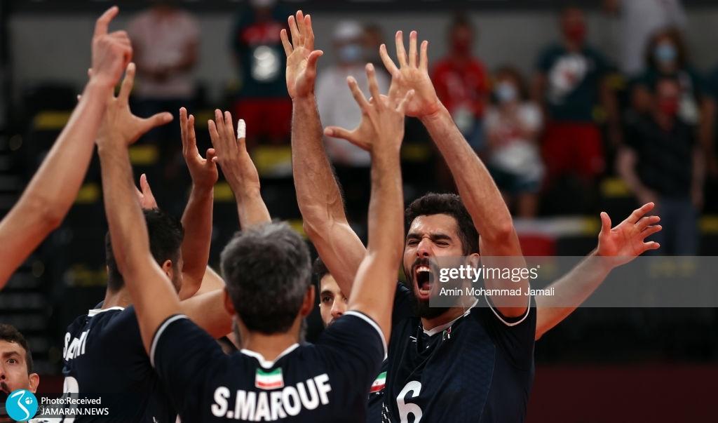 والیبال ایران و لهستان در المپیک