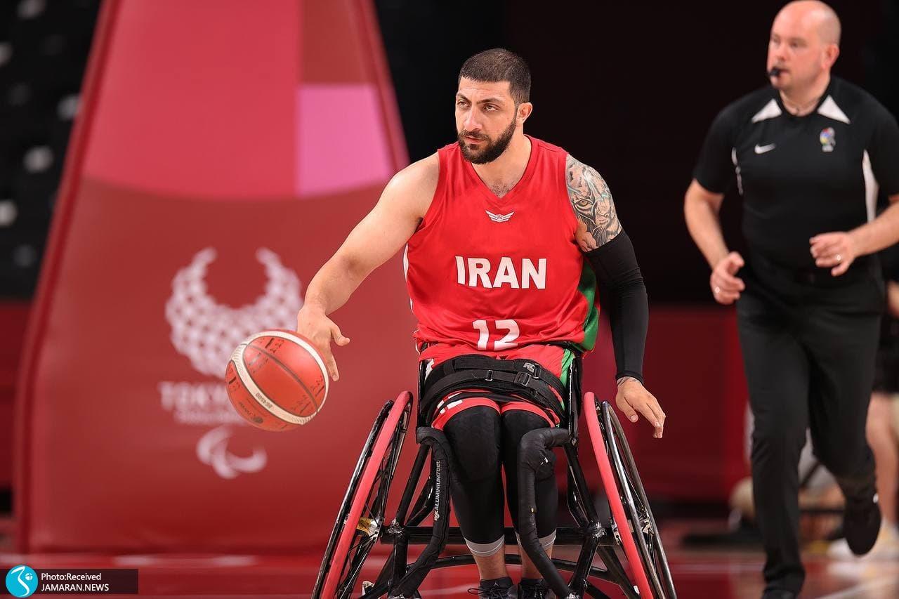 بسکتبال با ویلچر پارالمپیک 2020- محمدحسن سیاری
