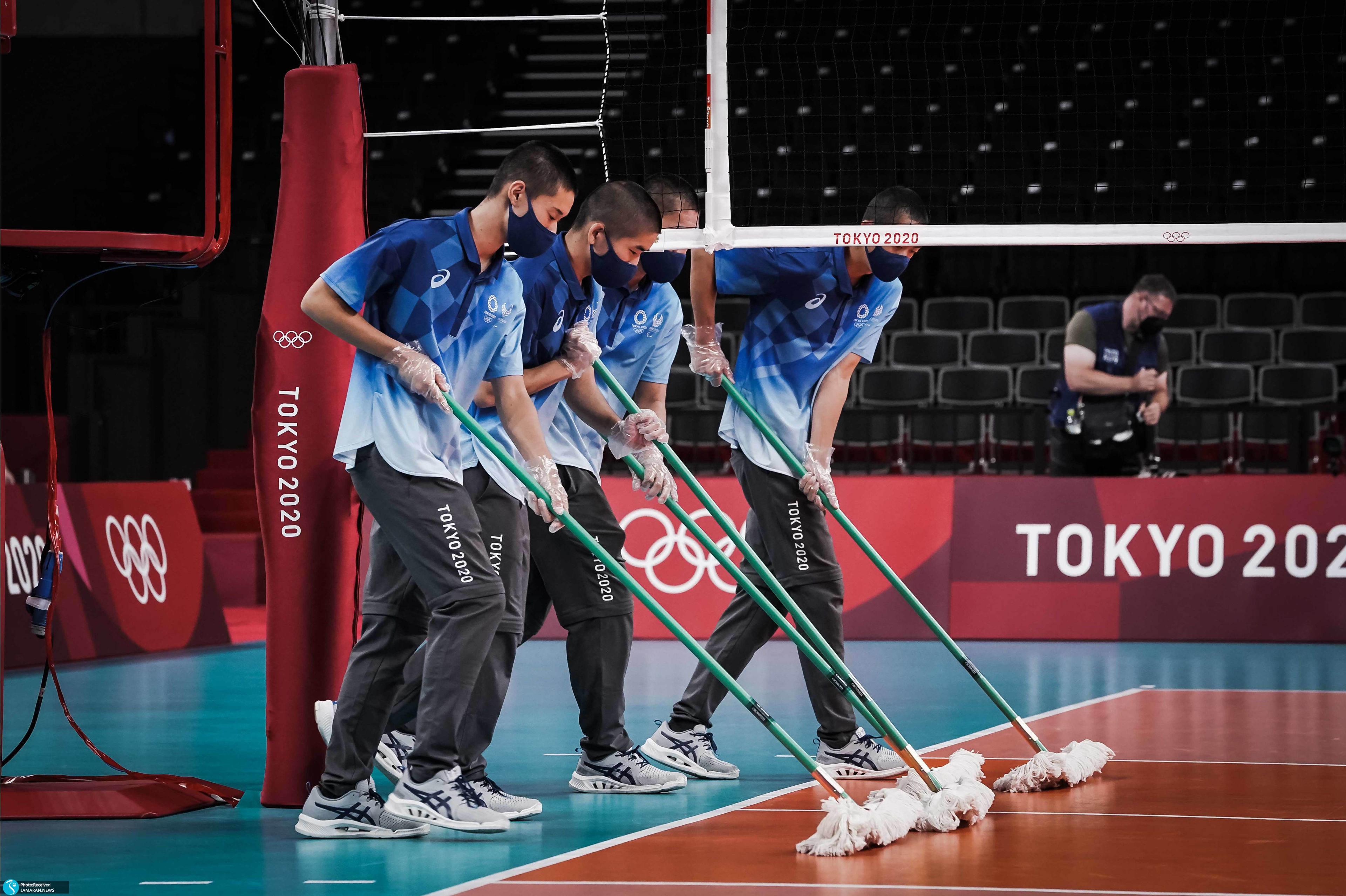 والیبال ایران و ژاپن در المپیک