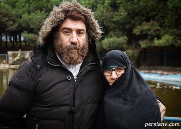 پایان عاشقانه های علی انصاریان و مادرش