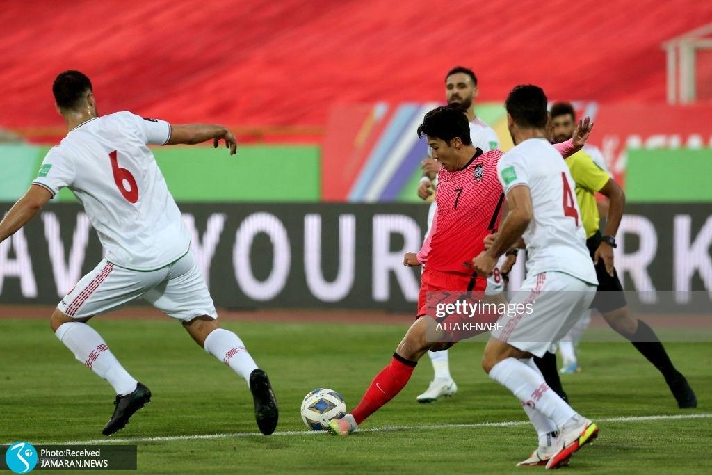 سون هیونگ مین تیم ملی فوتبال ایران کره جنوبی انتخابی جام جهانی