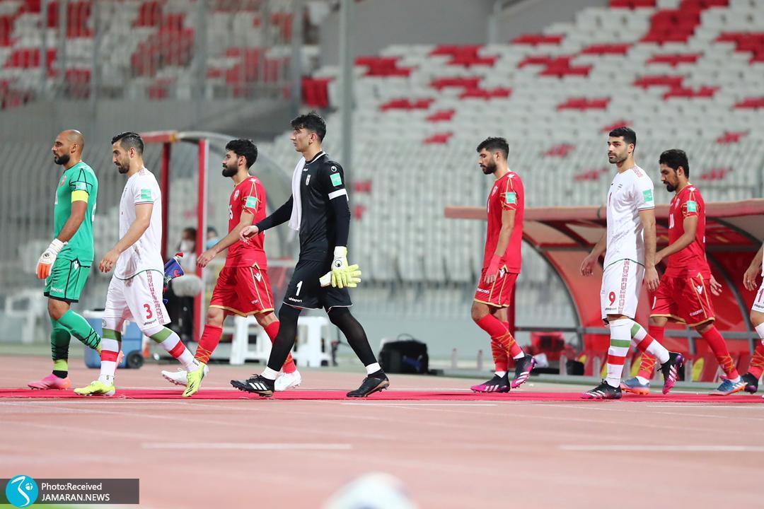 تیم ملی فوتبال ایران - ایران و بحرین