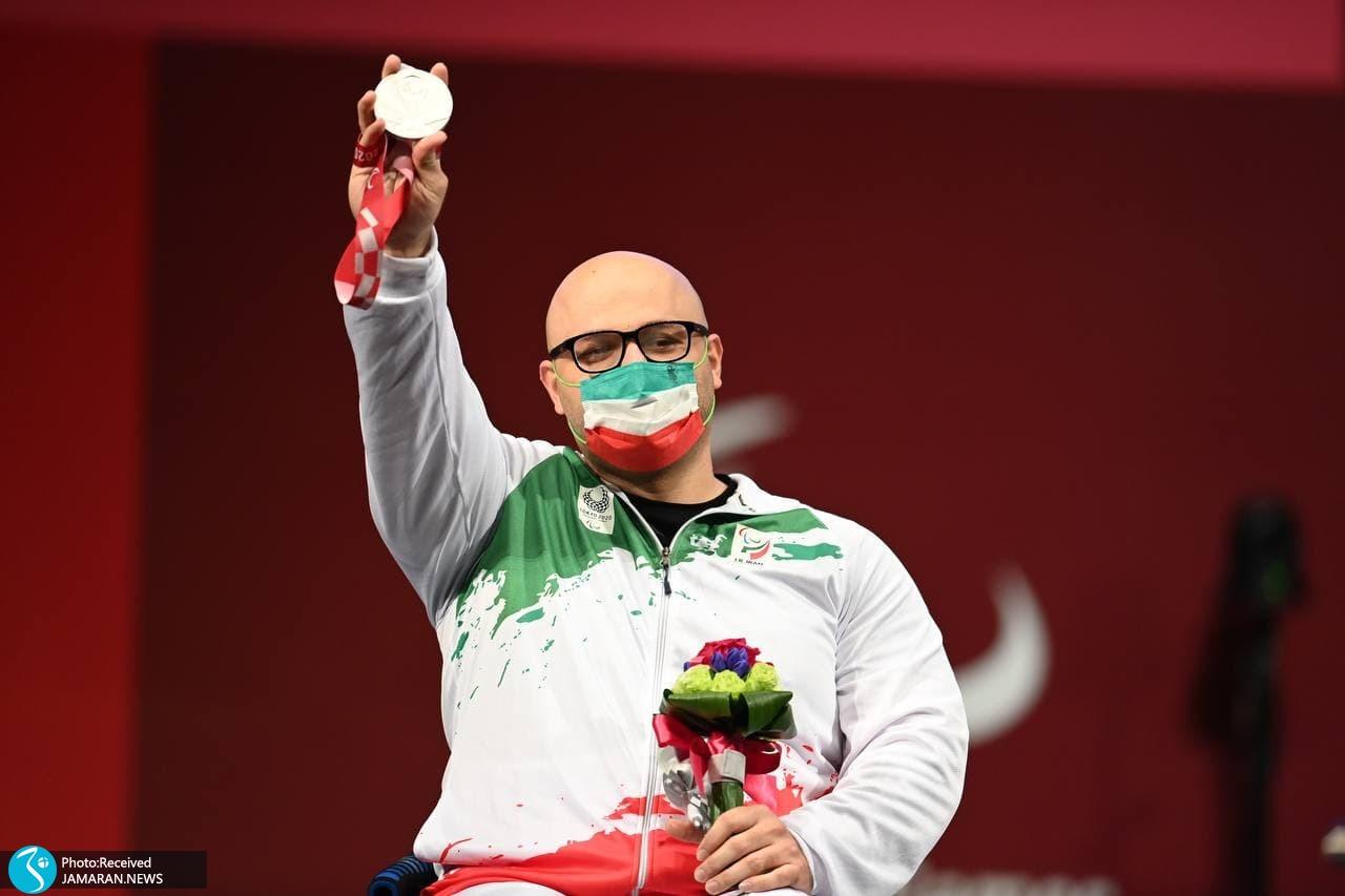 پارالمپیک 2020 - اهدای مدال نقره سیدحامد صلحی پور
