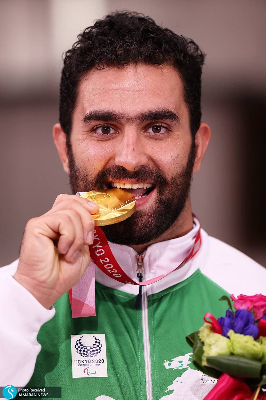پارالمپیک 2020- اهدای مدال طلا محمدرضا خیرالله زاده