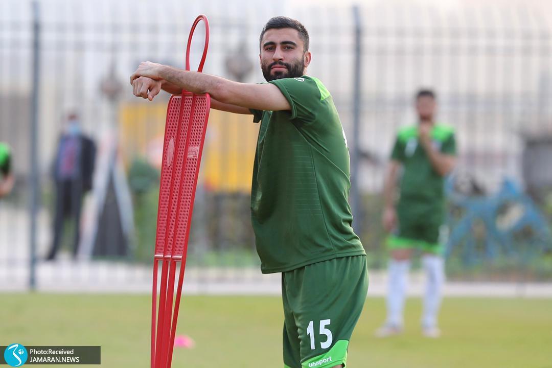 تمرین تیم ملی فوتبال ایران در منامه کاوه رضایی