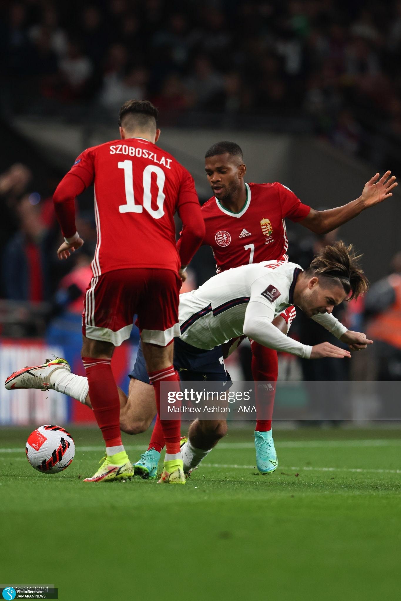 انتخابی جام جهانی-انگلیس - مجارستان