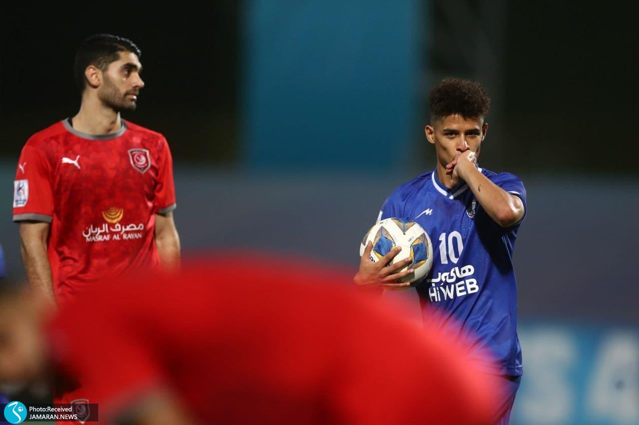 لیگ قهرمانان آسیا استقلال الدحیل علی کریمی قطر مهدی قایدی