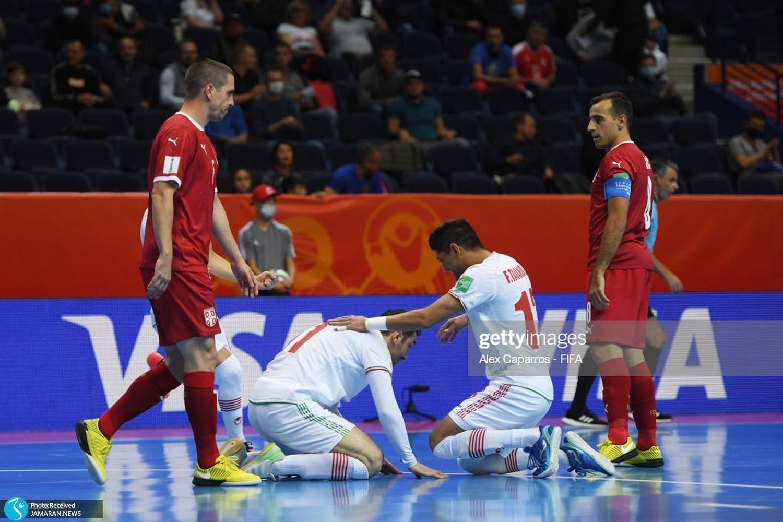 تیم ملی فوتسال ایران - صربستان