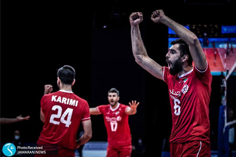 لیگ ملت های والیبال 2021/ ایران - فرانسه