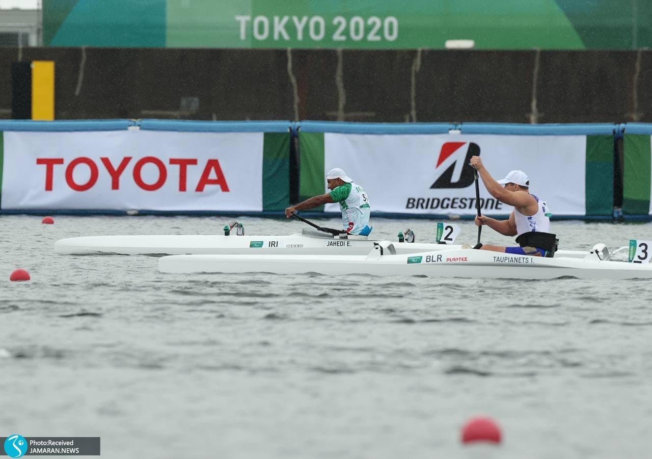 اسلام جاهدی پاراقایقرانی پارالمپیک توکیو