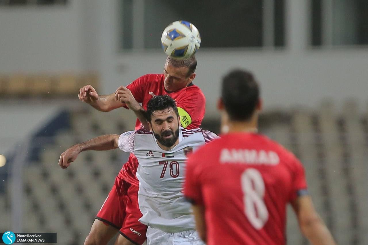 لیگ قهرمانان آسیا پرسپولیس الوحده امارات سید جلال حسینی
