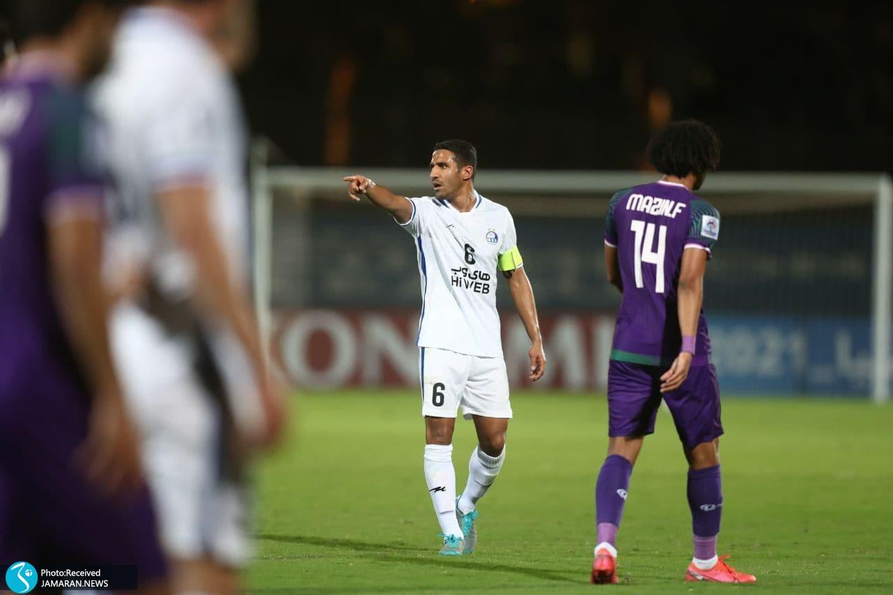 مسعود ریگی اتفاق جالب در بازی استقلال؛ یک بازی با سه کاپیتان! +عکس