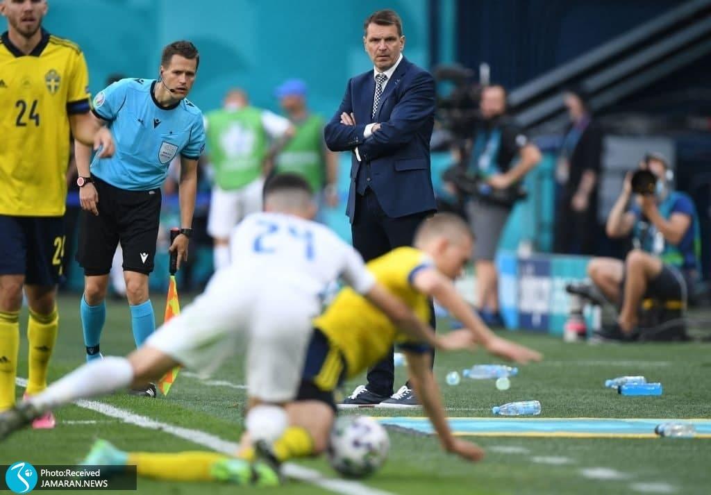 یورو 2020- تیم فوتبال سوئد و اسلواکی