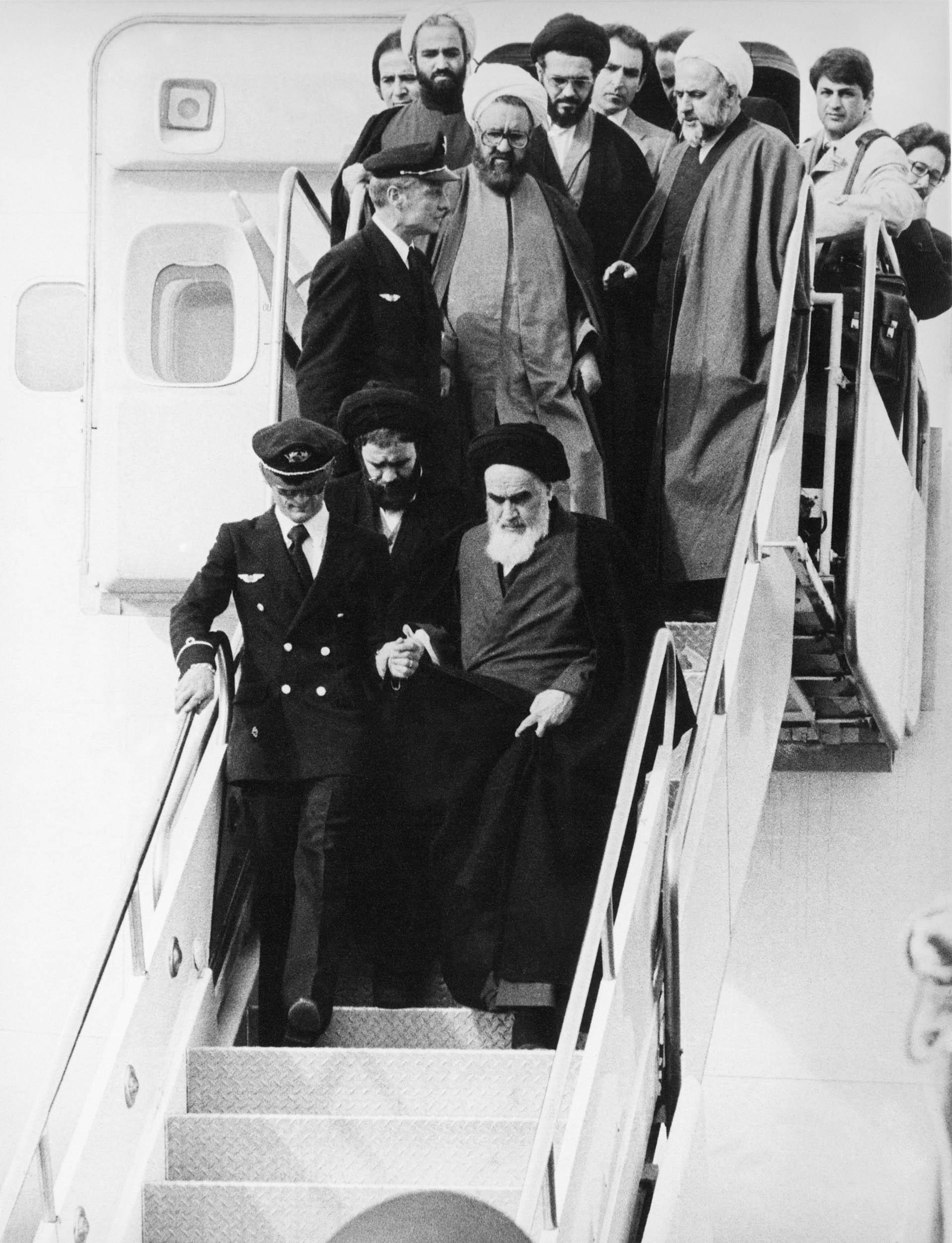 بازگشت+امام+به+ایران