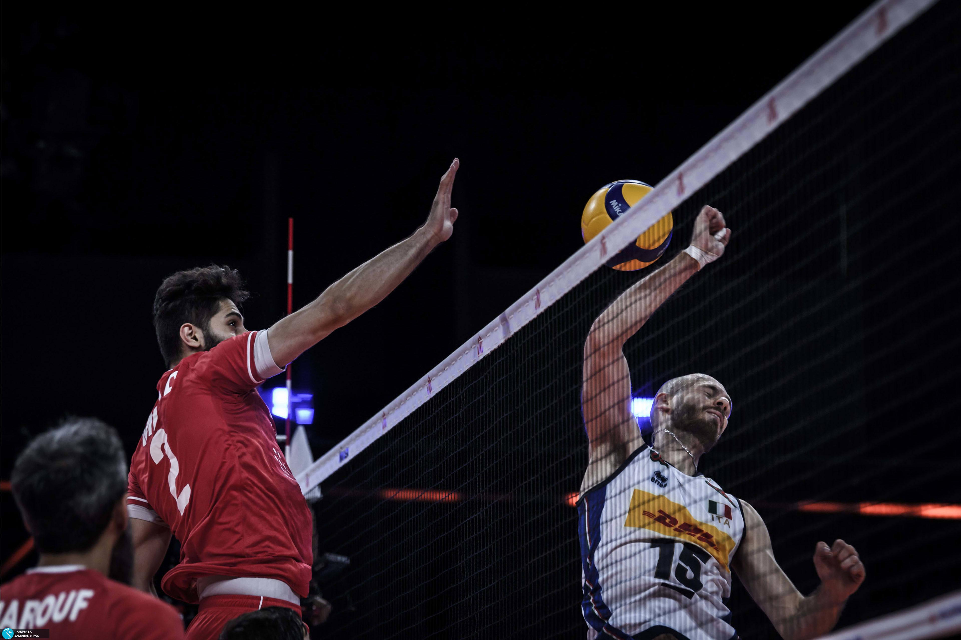 لیگ ملت های والیبال ۲۰۲۱/ ایران - ایتالیا