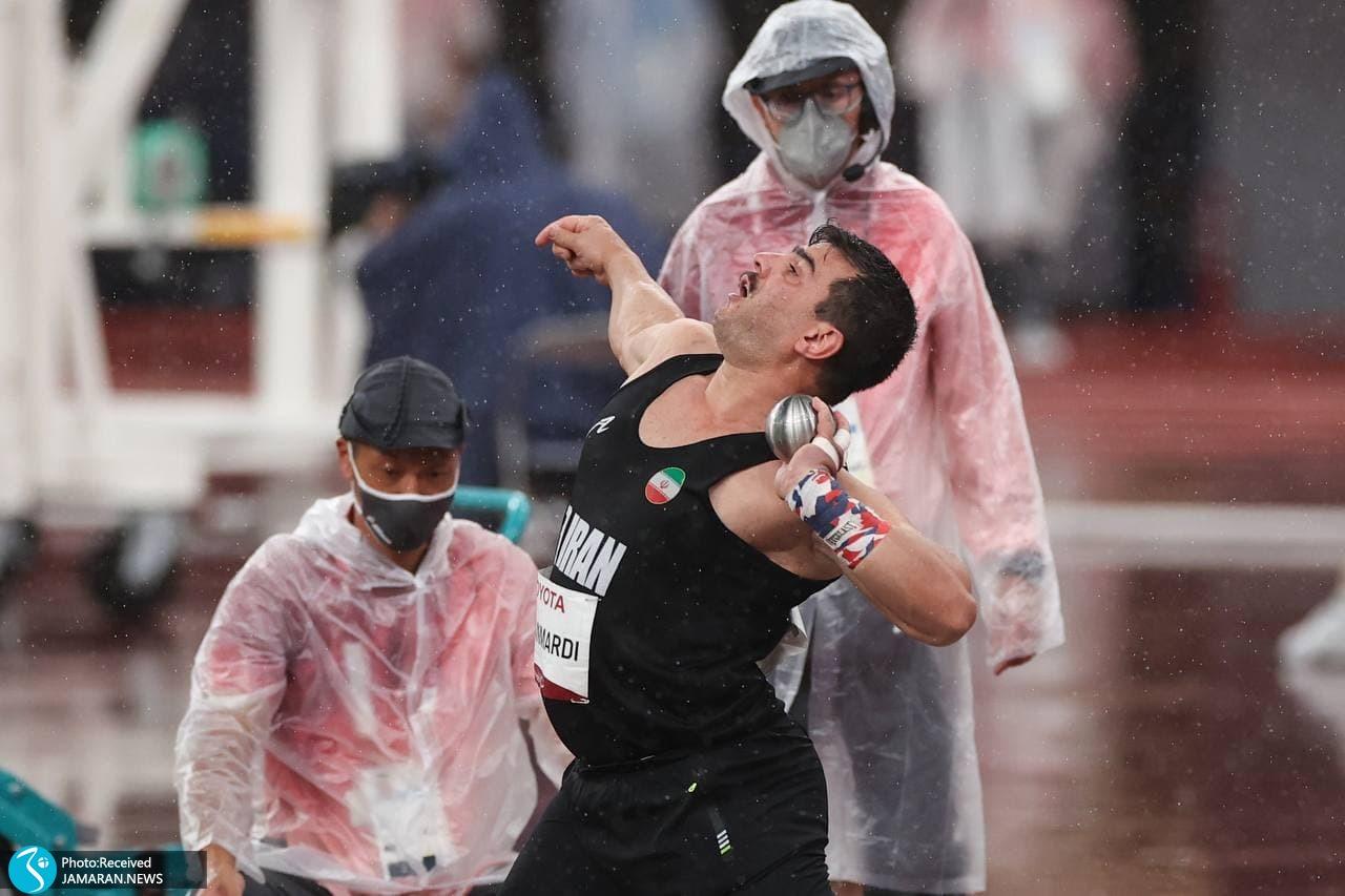 علی اصغر جوانمردی پرتاب وزنه پارالمپیک توکیو
