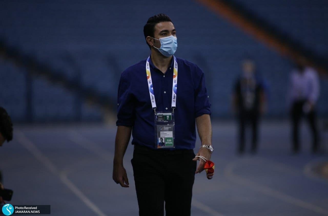 جواد نکونام لیگ قهرمانان آسیا فولاد خوزستان الوحدات اردن
