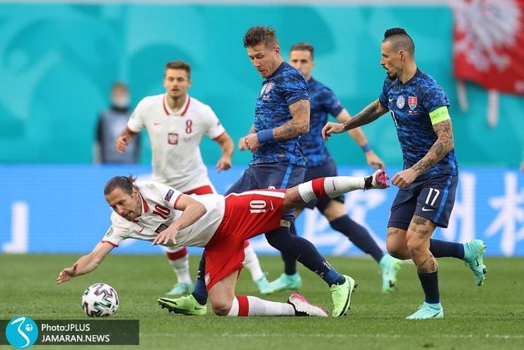 یورو 2020 - لهستان و اسلواکی/ همشیک