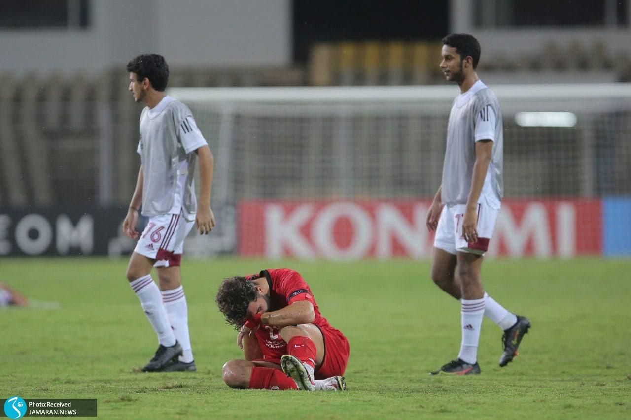 لیگ قهرمانان آسیا پرسپولیس الوحده امارات علی شجاعی